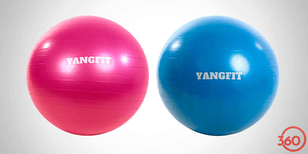 Bola suiça pilates e yoga