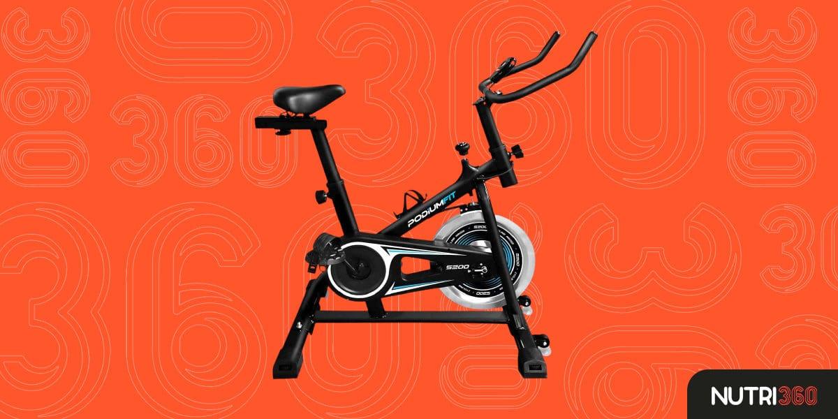 Bicicleta Ergométrica Silenciosa Spinning PodiumFit S200
