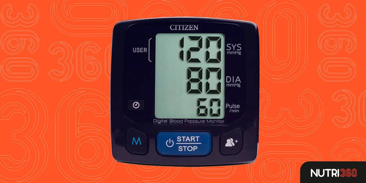 Monitor de Pressão Arterial Tela Grande