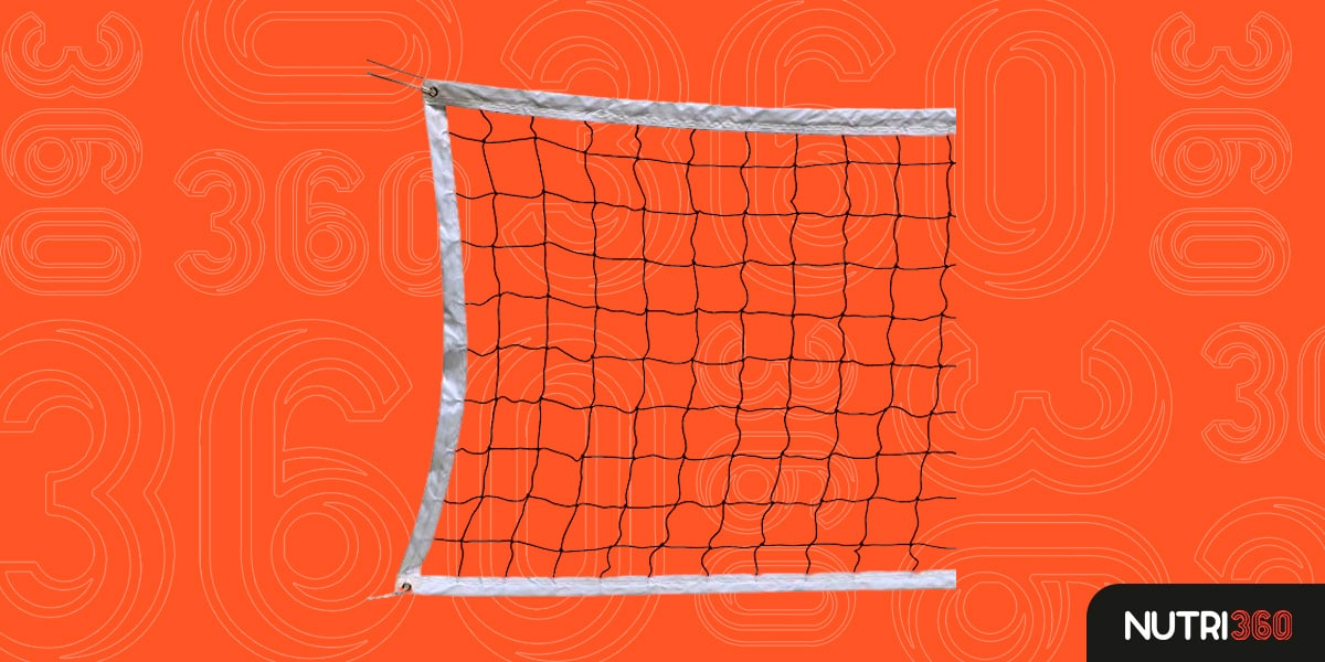 Rede de Voleibol Gold Medal Pro Power 2