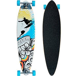 Skate Longboard Atom Pintail