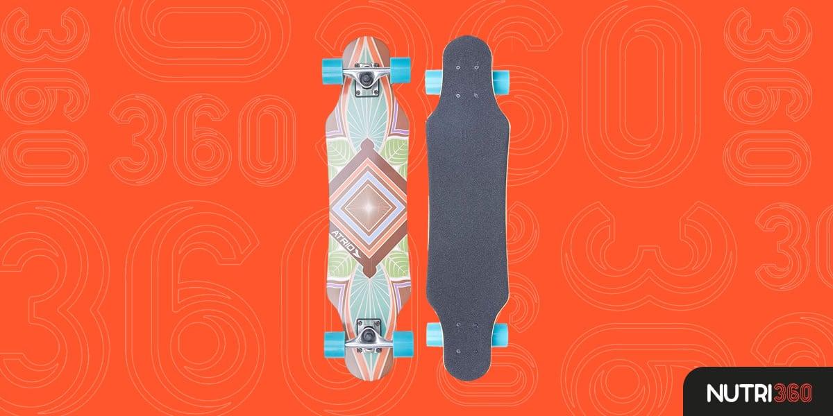 Skate Longboard Bom e Barato