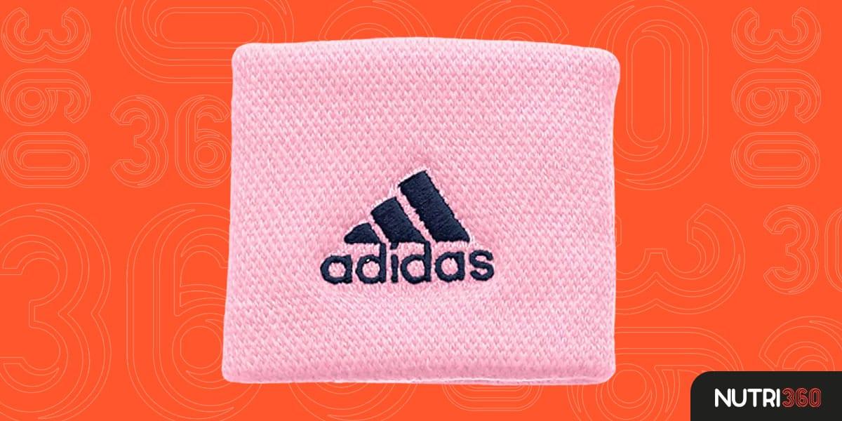 Munhequeira  Adidas Pequena Rosa