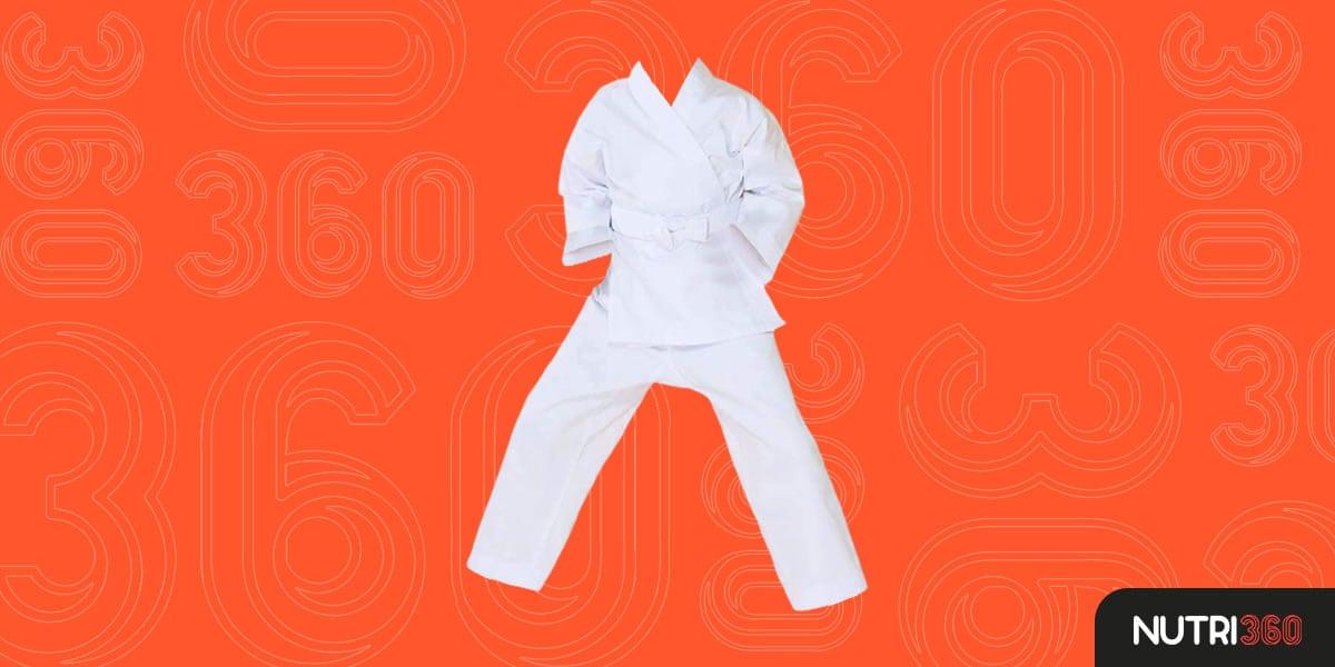 Uniforme de Karatê Fluory com Cinto Livre