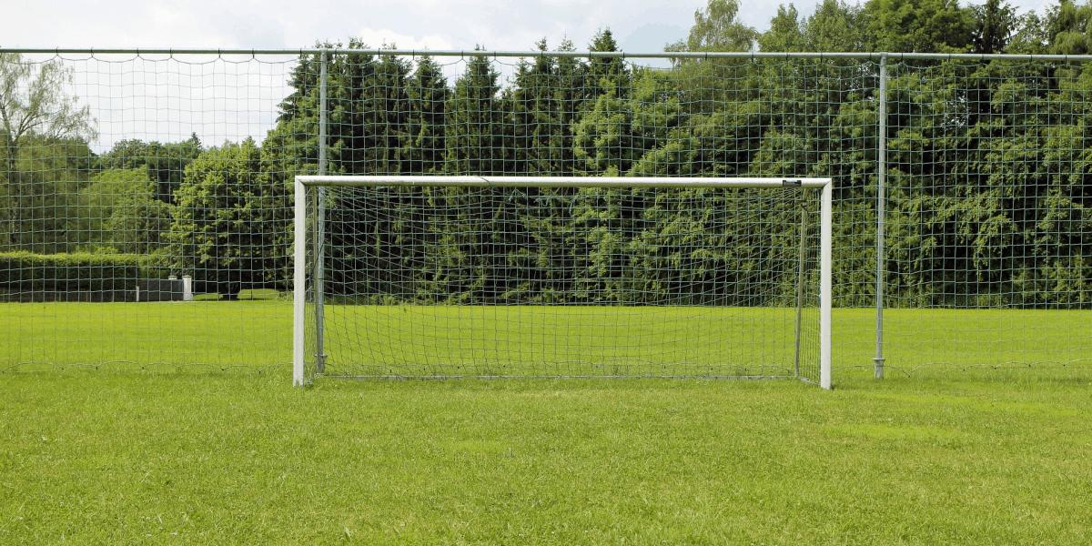 Trave oficial de futebol