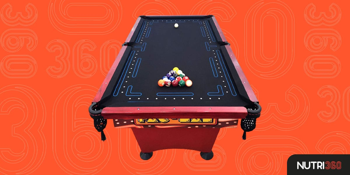 Matic Entretenimento Pac Man Pool Table
