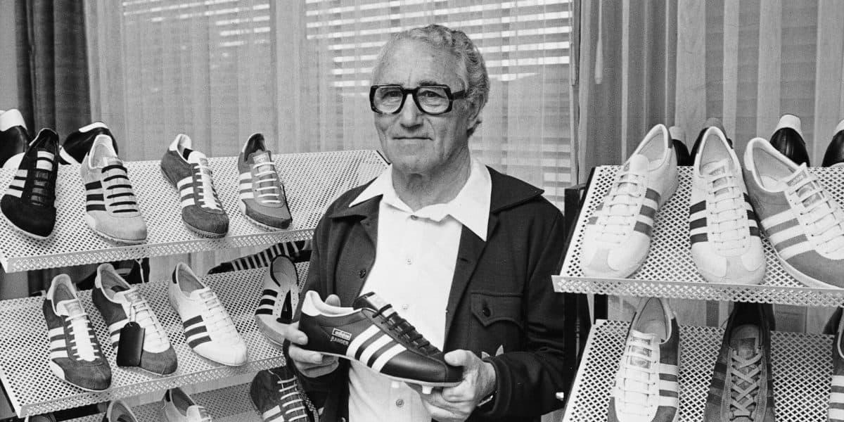 Adi Dassler, fundador da Adidas.