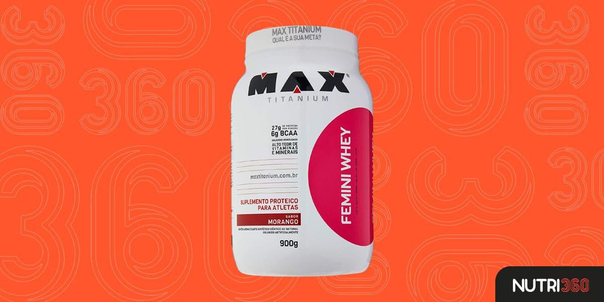 Femini Whey — Max Titanium (900 g)