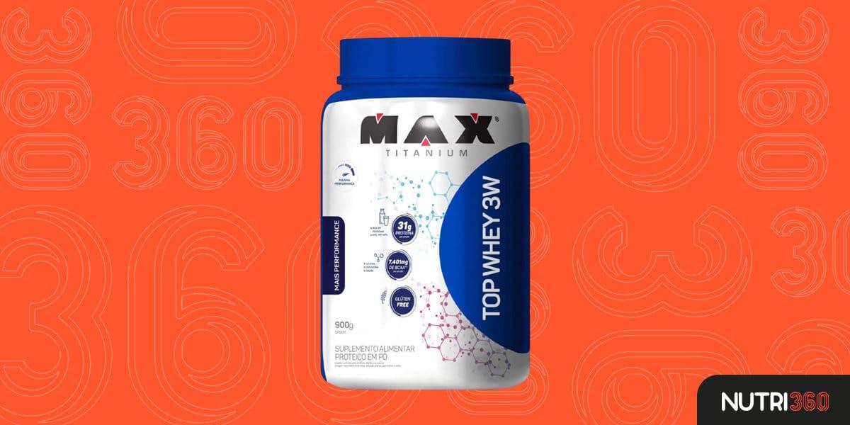 Top Whey 3W — Max Titanium (900 g)