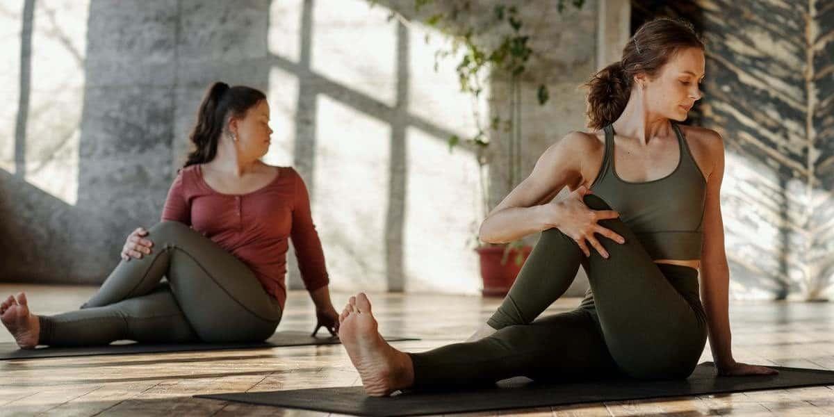 Calças de Yoga