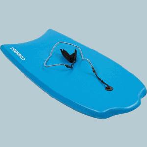 "Prancha de Bodyboard 100 S (35"") com leash"